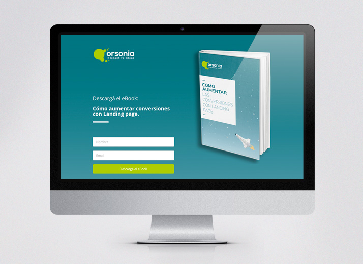 inbound marketing - landing page orsonia